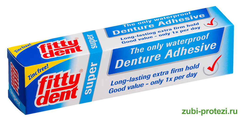 ТОП-лучших кремов для фиксации зубных протезов